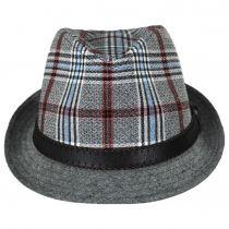 Roy Plaid Cotton Trilby Fedora Hat alternate view 2