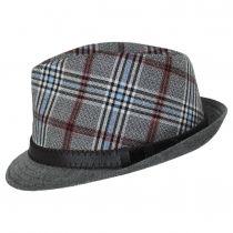 Roy Plaid Cotton Trilby Fedora Hat alternate view 3