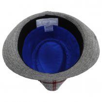 Roy Plaid Cotton Trilby Fedora Hat alternate view 4