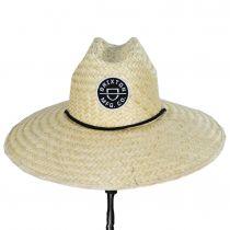 Crest Palm Leaf Straw Lifeguard Hat alternate view 7