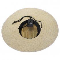 Crest Palm Leaf Straw Lifeguard Hat alternate view 9