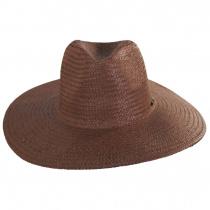 Seaside Toyo Straw Fedora Hat alternate view 2