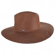 Seaside Toyo Straw Fedora Hat alternate view 3