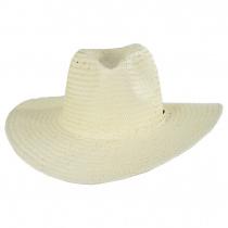 Seaside Toyo Straw Fedora Hat alternate view 6