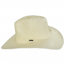 Seaside Toyo Straw Fedora Hat alternate view 7