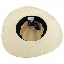 Seaside Toyo Straw Fedora Hat alternate view 16