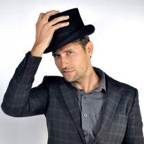 Mid Crown Wool Felt Top Hat alternate view 69