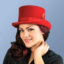 Mid Crown Wool Felt Top Hat alternate view 74
