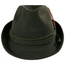 Alpine Wool Felt Fedora Hat alternate view 18