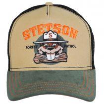 Forest Patrol Mesh Trucker Snapback Baseball Cap alternate view 2