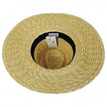 Joanna Polka Dot Wheat Straw Fedora Hat alternate view 16
