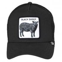 Black Sheep Mesh Trucker Snapback Baseball Cap alternate view 2