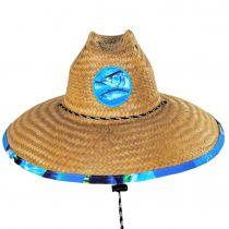 Tuna Coconut Straw Lifeguard Hat alternate view 2