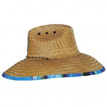 Tuna Coconut Straw Lifeguard Hat alternate view 3