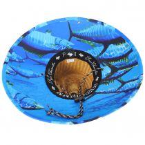 Tuna Coconut Straw Lifeguard Hat alternate view 4