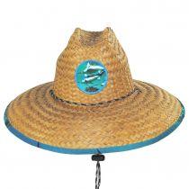 Marlin Coconut Straw Lifeguard Hat alternate view 2