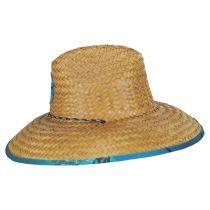 Marlin Coconut Straw Lifeguard Hat alternate view 3