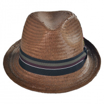 Tribeca Toyo Straw Trilby Fedora Hat alternate view 8
