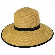 Toyo Straw Braid Facesaver Hat alternate view 2