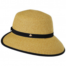 Toyo Straw Braid Facesaver Hat alternate view 3
