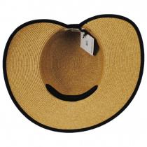 Toyo Straw Braid Facesaver Hat alternate view 4