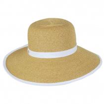 Toyo Straw Braid Facesaver Hat alternate view 6