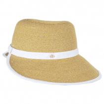 Toyo Straw Braid Facesaver Hat alternate view 7