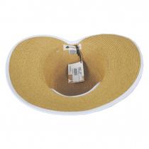 Toyo Straw Braid Facesaver Hat alternate view 8