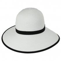 Toyo Straw Braid Facesaver Hat alternate view 10