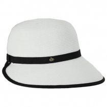 Toyo Straw Braid Facesaver Hat alternate view 11