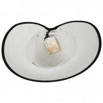 Toyo Straw Braid Facesaver Hat alternate view 12