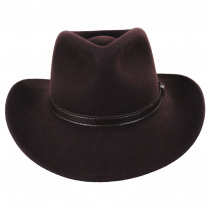 Crushable Wool Felt Outback Hat alternate view 32