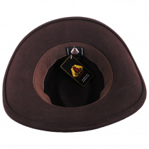 Crushable Wool Felt Outback Hat alternate view 34