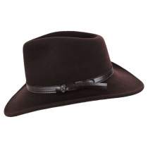 Crushable Wool Felt Outback Hat alternate view 75