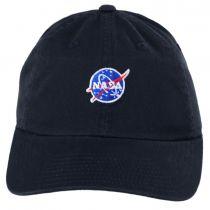 NASA Micro Cotton Strapback Baseball Cap Dad Hat alternate view 2