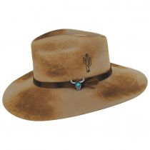 Lakota Distressed Wool Felt Western Hat alternate view 7