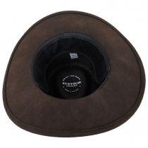 Sturgis Crushable Wool Felt Earflap Outback Hat alternate view 5