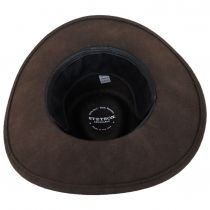 Sturgis Crushable Wool Felt Earflap Outback Hat alternate view 10