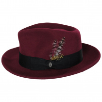 Pachuco Crushable Wool Felt Fedora Hat alternate view 25
