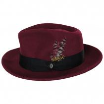 Pachuco Crushable Wool Felt Fedora Hat alternate view 21