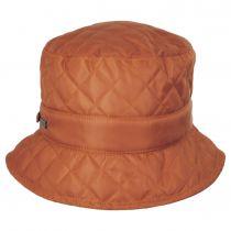 Quilted Nylon Rain Bucket Hat alternate view 3