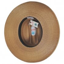 Toluca Fine Palm Straw Cattlemen Western Hat alternate view 4