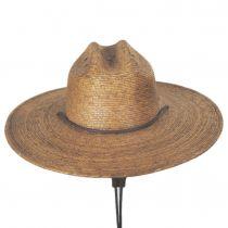 Monterrey Palm Straw Cattleman Western Hat alternate view 8