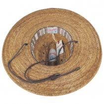 Monterrey Palm Straw Cattleman Western Hat alternate view 10