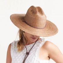 Monterrey Palm Straw Cattleman Western Hat alternate view 11