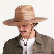 Monterrey Palm Straw Cattleman Western Hat alternate view 36