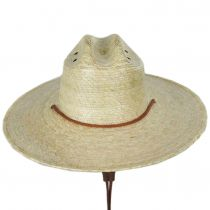 Monterrey Palm Straw Cattleman Western Hat alternate view 2