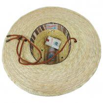 Monterrey Palm Straw Cattleman Western Hat alternate view 4