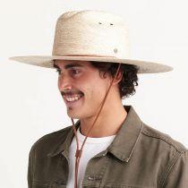 Monterrey Palm Straw Cattleman Western Hat alternate view 5