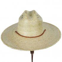 Monterrey Palm Straw Cattleman Western Hat alternate view 14